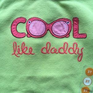 Gymboree Shirts & Tops - Gymboree NWT Cool 😎 Like Daddy Shirt